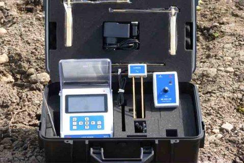 جهاز BR 500 GW كاشف المياة الجوفية والأبار وتحديد نوع المياة الموجودة لعمق 500 م