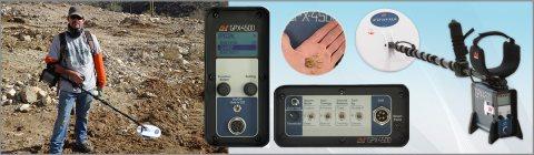 جهاز GPX 4500 كاشف الذهب الخام الطبيعي - شركة بي ار ديتكتورز دبي