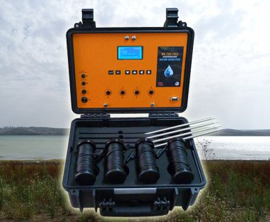 BR 700 PRO كاشف المياة الجوفية وتحديد نوع المياة لعمق 700 متر - شركة بي ار دبي
