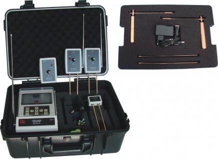 جهاز BR 800 P كاشف الذهب الخام وجميع المعادن لعمق 50 متر ومسح دائري 2000 م