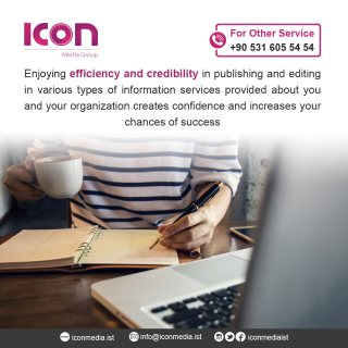 Publishing Services in Istanbul ICON Media Group