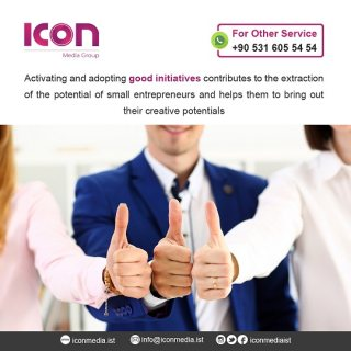 Icon Media Company for Projects and Initiatives