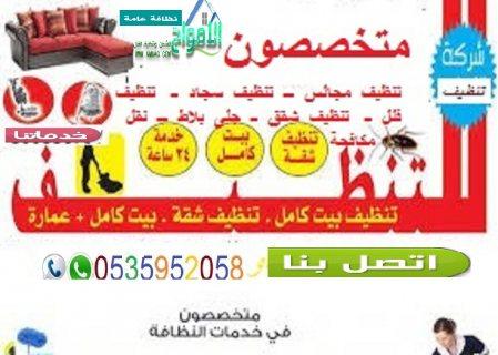 شركة تنظيف بابها 0536303021