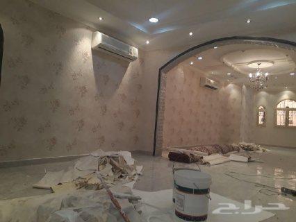 يتوفر لدينا من المغرب دهانين جدران