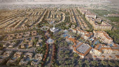 تملك فلا وقسط علي 6 سنوات في اجمل مجمعات دبي السكنيه