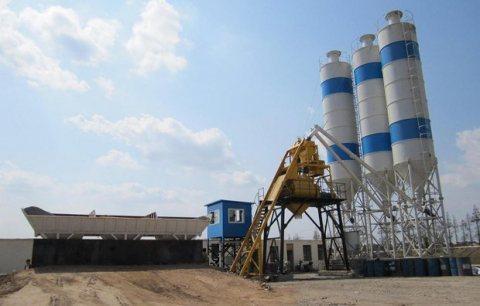 محطة خلط الخرسانة HZS25,الخرسانة 25 م3/ساعة,مصنع خلط الخرسانة للبيع