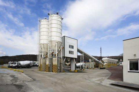 محطة خلط الخرسانة HSZ60,الخرسانة 60 م3/ساعة,مصنع خلط الخرسانة للبيع
