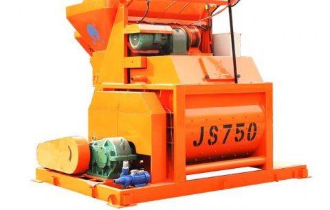 خلاط الخرسانة JS750,ملموسة خلاط 35 م3/ساعة