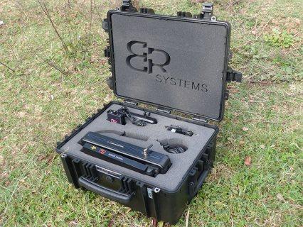 جهاز كشف الكنوز والدفائن وجميع المعادن والكهوف والفراغات بنظام التصوير 3D