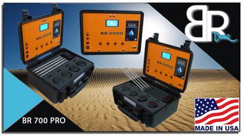 جهاز كشف المياة الجوفية والأبار الأرتوازية بأفضل جهاز جيوفيزيائي BR 700 PRO
