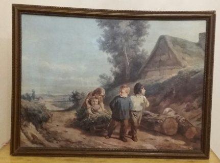 Painting Henri Joseph Dillens