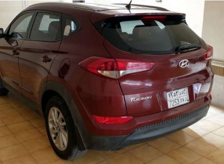 Hyundai Tucson Red 2017 Clean Car