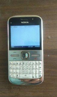 Nokia E5 Silver colors