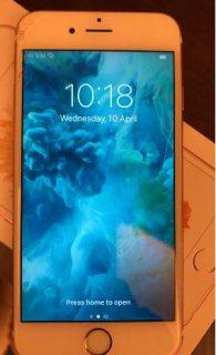 للبيع ايفون S6 سعة 64 Gb