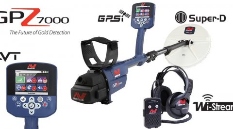 Gold and Metal Detector GPZ 7000 By DST Detectors