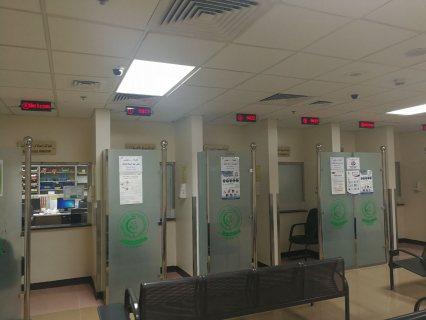 نظاام ترتيب العملاء queue system