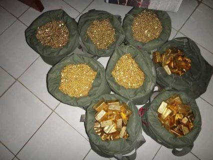 Gold bars,Gold Nuggets and Gold Dust Available