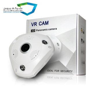 كاميرا المراقبةvr 360 درجة تصور اكتر من جهه فقط780ريال