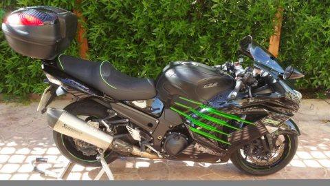 kawasaki ninja ZX14  whatsapp... +971558571952