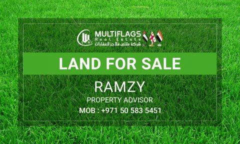 للبيع ارض سكنى استثمارى بمنطقة النخيل