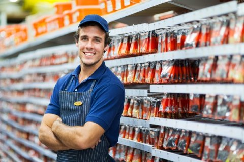 عمال رفوف للعمل بمراكز بيع المواد الغذائية والسوبرماركت عبر شركة الأسمر