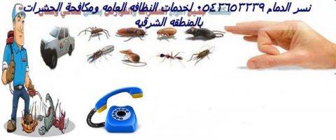 نسر الدمام لخدمات نقل العفش والنظافه ومكافحه الحشرات