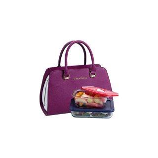 حقيبة الغداء المعزولة جولييت متعددة الوظائف الغداء حمل المحفظة للنساء
