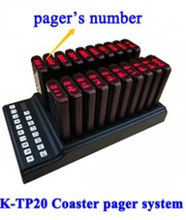 K-TP20 COASTER PAGER SYSTEM