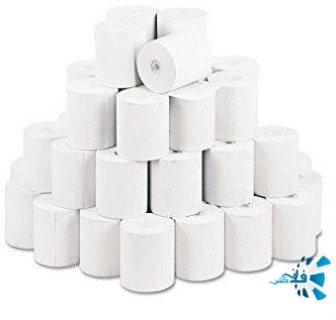 ورق رول طباعة حراري لطابعات انظمة نقاط البيع والكاشير