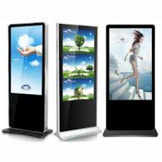 شاشات العرض التفاعلية الدعائية الرقمية وأنظمةالتحكم
