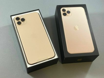 Apple iPhone 11 Pro or Pro MAX Available in All Colors/Gb  - Factory Unlocked