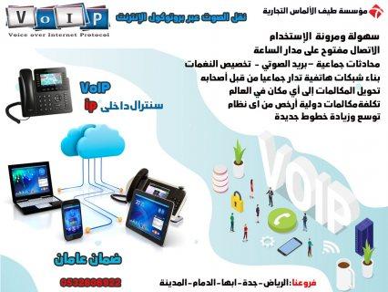 هواتف-سنترال نقل الصوت عبر الإنترنت VoIP Phon