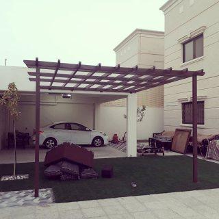 عروض وخصم 20%  بيع وتركيب مظلات  للسيارات مظلات حدائق 0558883925 في الرياض