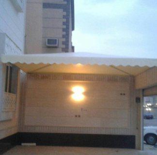 خصم 30% تركيب مظلات سيارات مظلات حديد خشبي . سواتر منزليه في الرياض
