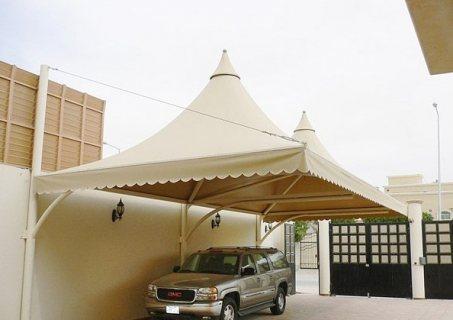 تركيب مظلات بي في سي مظلات حديد شكل خشب مظلات مجالس في جدة و ابها