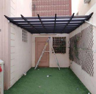 خصم 35% لمده محدوده. تركيب مظلات برجولات سواتر بيوت شعر قرميد في الرياض