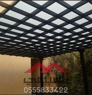 تركيب مظلات خشبية الرياض ,0555833422 ,برجولات بجميع الأشكال والتصميمات ,