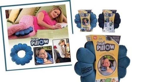 مخدة مساج شكل وردة total pillow للتواصل 0565264138