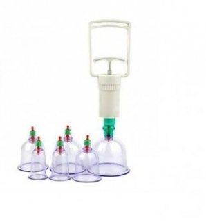 حجامة اسلامية طبية 6 قطع لإمتصاص السموم للتواصل 0565264138