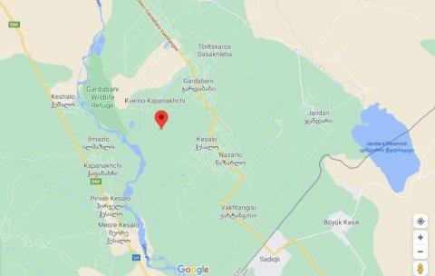 اراضي في جورجيا للبيع (12 دولار للمتر) بالقرب من نهر الكورا
