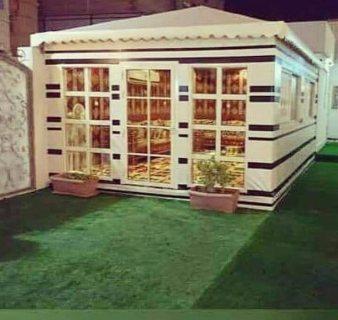 افضل محلات تركيب بيوت شعر وخيام ملكية بتصميمات جديدة بجدة 0122276189/ 0500301445