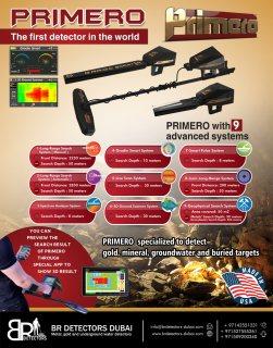 best gold and metal detector 2021 Primero - BR Detectors