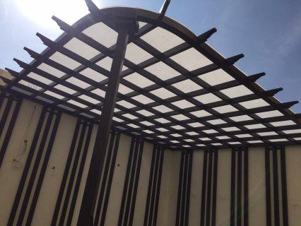 » محلات تركيب مظلات خشبية بجدة 0503142292 بأشكال عصرية جديدة 2021