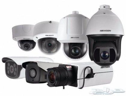 كاميرات مراقبه Hikvision مع شهادة إنجاز