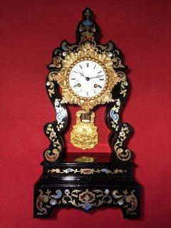 ساعة فرنسية انتيك ( نابليون ٣) سنة الصنع 1860