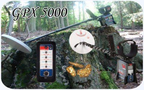GPX5000 جهاز كشف المعادن و العملات
