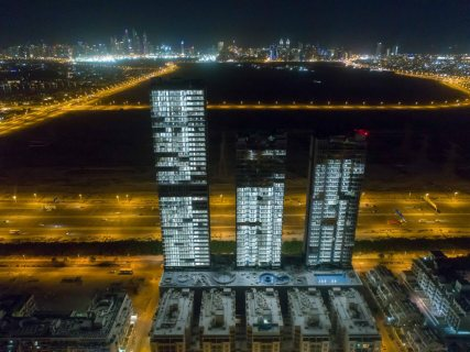 شقه للبيع في دبي بالتقسيط ع 4 سنوات بعد التسليم