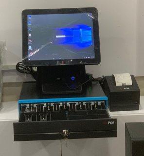 جهاز كاشير للبيع جوالات بقالة مطعم طيف الالماس 0537434654