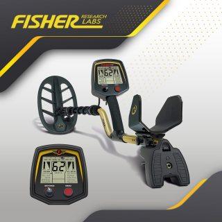 الجهاز الصوتي الاول لكشف الذهب و المعادن Fisher 75