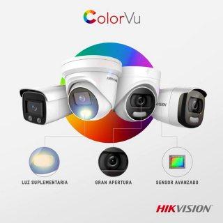 كاميرات مراقبة هيكفيجن للمنازل والشركات عن طريق الجوال